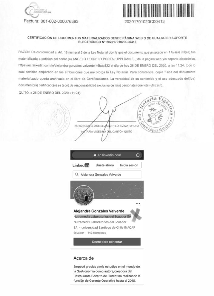 Alejandra Gonzales Valverde Quito Ecuador Rentox toxina botulinica Bonta medytox neuramis